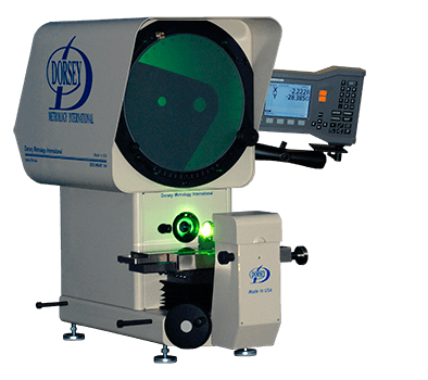 14H optical comparator with ND120 digital readout