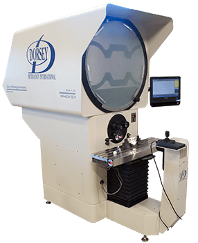 32P optical comparator with M2 digital readout