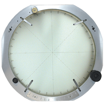 Optical Comparator Chart Ring